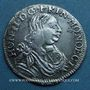Coins Monaco. Honoré II (1604-1662). 1/12 écu ou 5 sols 1660