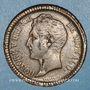 Coins Monaco. Honoré V (1819-1841). 1 décime 1838MC. Grosse tête