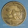 Coins Monaco. Louis II (1922-1949). 1 franc 1924. Poissy