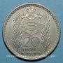 Coins Monaco. Louis II (1922-1949). 20 francs 1947