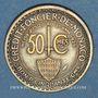 Coins Monaco. Louis II (1922-1949). 50 centimes 1924. Poissy