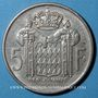 Coins Monaco. Rainier III (1949-2005). 5 francs 1966