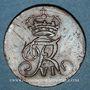 Coins Norvège. Frédéric VI (1808-1839). 2 skilling 1810