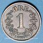 Coins Norvège. Oscar II (1872-1905). 1 öre 1877