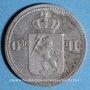 Coins Norvège. Oscar II (1872-1905). 10 öre 1875