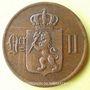 Coins Norvège. Oscar II (1872-1905). 5 öre 1899