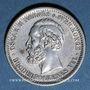 Coins Norvège. Oscar II (1872-1907). 50 öre 1889