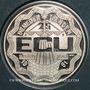 Coins Pays Bas. Béatrice (1980-2013). 25 écus 1990. Erasmus. (PTL 925/1000. 25 g)
