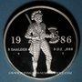Coins Pays Bas. Béatrice (1980-2013). 5 daldres 1986