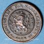 Coins Pays Bas. Guillaume III (1849-1890). 1/2 cent 1885