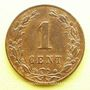 Coins Pays Bas. Guillaume III (1849-1890). 1 cent 1881