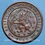 Coins Pays Bas. Guillaume III (1849-1890). 1 cent 1884