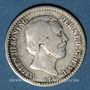 Coins Pays Bas. Guillaume III (1849-1890). 10 cents 1862