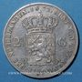 Coins Pays Bas. Guillaume III (1849-1890). 2 1/2 cents 1872