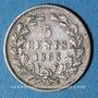 Coins Pays Bas. Guillaume III (1849-1890). 5 cents 1863