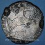 Coins Pays Bas. Kampen. Cavalier d'argent ou ducaton 1659