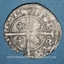 Coins Pays Bas. Kampen. Imitation du 1/4 de denier de Metz XVe siècle. Inédit !