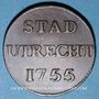 Coins Pays Bas. Utrecht. Duit 1755