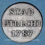 Coins Pays Bas. Utrecht. Duit 1787