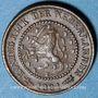 Coins Pays Bas. Wilhelmine (1890-1948). 1/2 cent 1891