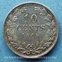 Coins Pays Bas. Wilhelmine (1890-1948). 10 cents 1905