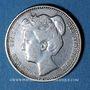 Coins Pays Bas. Wilhelmine (1890-1948). 25 cents 1905