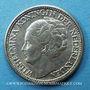 Coins Pays Bas. Wilhelmine (1890-1948). 25 cents 1944P