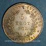 Coins Pologne. Nicolas I de Russie (1825-1855). 5 zlote 1831 KG