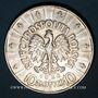 Coins Pologne. République. 10 zlotych 1936