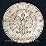Coins Pologne. République. 10 zlotych 1937