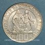 Coins Pologne. République. 100 zlotych 1966 Millénaire de la Pologne