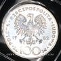 Coins Pologne. République. 100 zlotych 1982. Visite de Jean-Paul II
