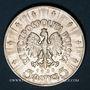 Coins Pologne. République. 5 zlotych 1935