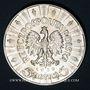 Coins Pologne. République. 5 zlotych 1936