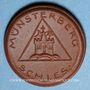 Coins Pologne. Ziebice. Münsterberg Schles. 25 pfennig. Porcelaine