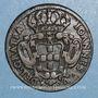 Coins Portugal. Jean V (1706-1750). 10 reis 1736