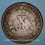 Coins Portugal. Jean V (1706-1750). 10 reis 1743