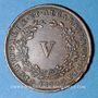 Coins Portugal. Louis I (1861-1889). 5 reis 1872