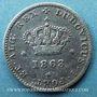 Coins Portugal. Louis I (1861-1889). 50 reis 1863