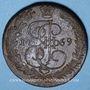 Coins Russie. Catherine II (1762-1796). 5 kopecks 1769EM. Ekaterinbourg