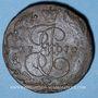 Coins Russie. Catherine II (1762-1796). 5 kopecks 1770EM. Ekaterinbourg