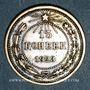 Coins Russie. U.R.S.S. (1922-1991). 15 kopecks 1923