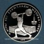 Coins Russie. U.R.S.S. (1922-1991). 5 roubles 1979(m). Moscou. J. O. Moscou 1980. Haltérophilie