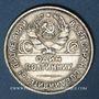 Coins Russie. U.R.S.S. (1922-1991). 50 kopecks 1924