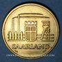 Coins Sarre. Département français (1945-1957). 50 franken 1954