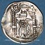 Coins Serbie. Stefan Uroš IV Dušan (roi 1331-1335, tsar (1345-55). Denier ou matapan dit du couronnement