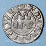 Coins Sicile. Les Suèves. Frédéric II (1197-1250). Denier. Brindisi, vers 1245