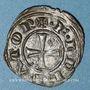 Coins Sicile. Les Suèves. Frédéric II, empereur (1220-1250). Denier. Messine