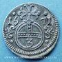 Coins Silésie. Léopold I (1657-1705). 3 pfennig 1671. Opole (Oppeln)