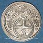 Coins Silésie. Léopold I (1657-1705). 3 pfennig 1682. Opole (Oppeln)